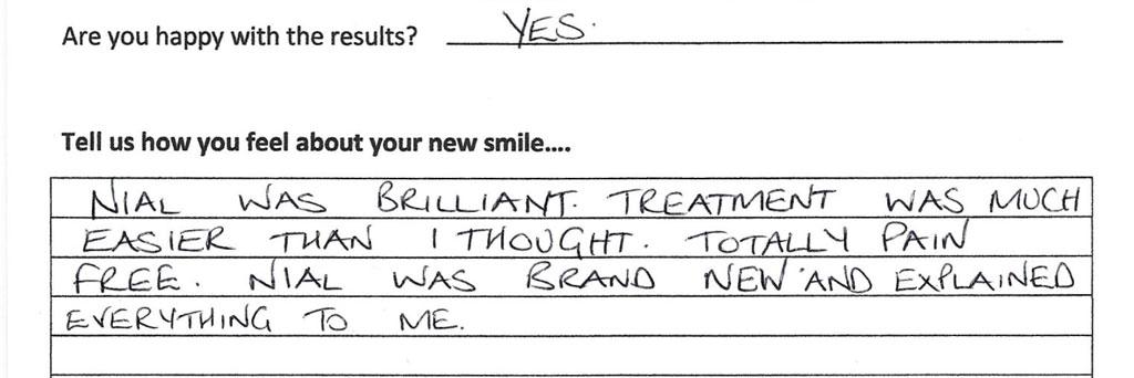 Success Stories Patient Testimonials